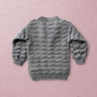 baby knit pullover ALFRED, meriono wool, hand made in Austria, VAN BEREN, vintage style inspired knits, high quality, eco-friendly clothing, conscious, baby present, baby shower, baby belly party, hand knitted, fair fashion, sustainable kids wear, babyknits, vintagestyle,
