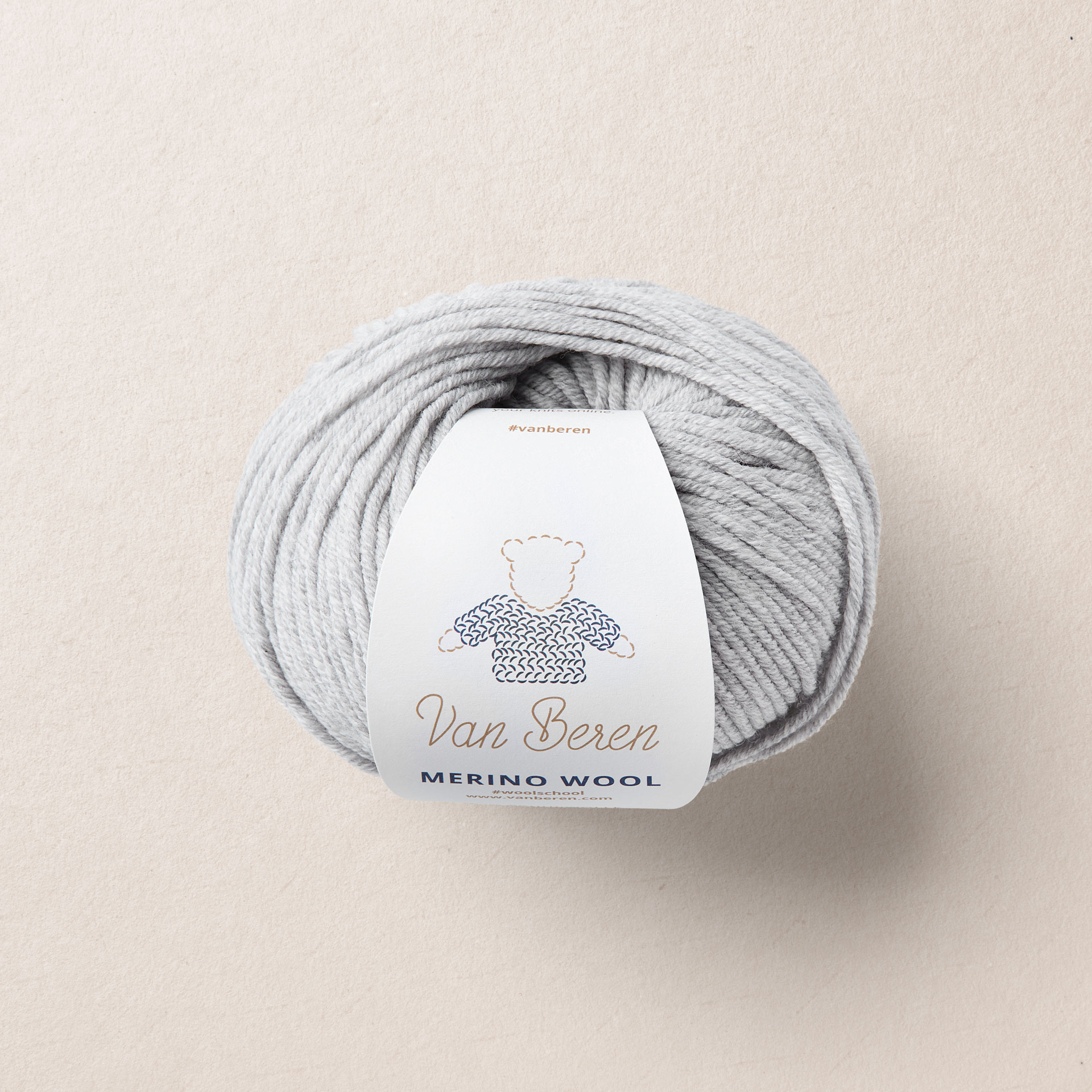 Merino Virgin Wool EXP, light grey