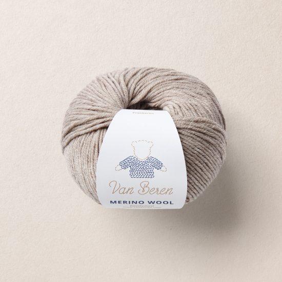 Merino Virgin Wool EXP, Merinowolle, beige