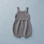 Van Beren baby knit romper, BEN, Merino wool