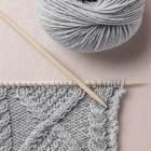 Aran knit pattern, Happy Knitting, Wool School