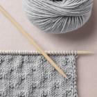 Checked pattern, Happy Knitting, Wool School