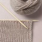 Ribbing Pattern Wool School, Happy Knitting
