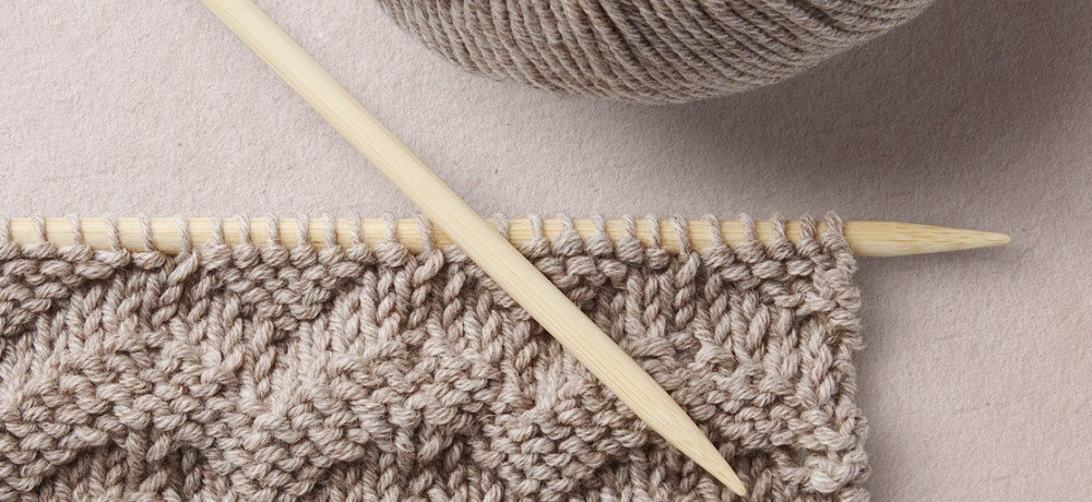 Wavy Stitch Knit Pattern Wool School, Happy Knitting