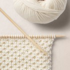 Nest Stitch Pattern, Wool School, Happy Knitting