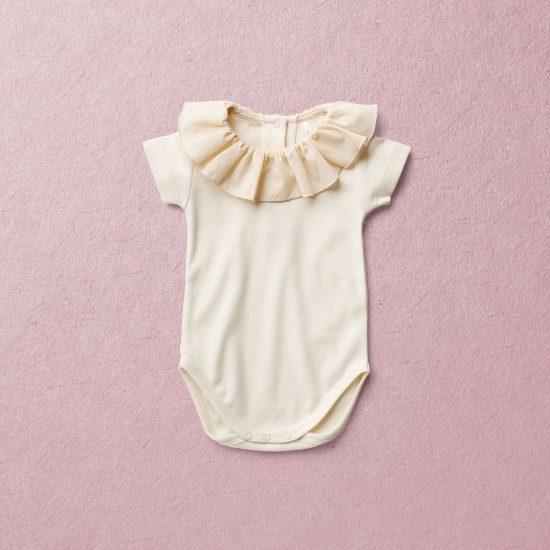 Van Beren baby onesie MARY, organic cotton