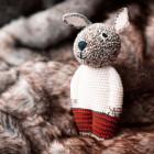 ANNE-CLAIRE PETIT rabbit, hand crochet, organic cotton