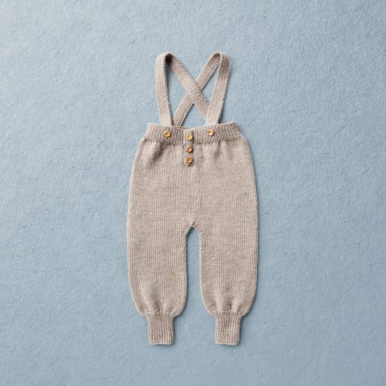 Babystrickhose, Van Beren Babystrickhose FLOYD, Merinowolle