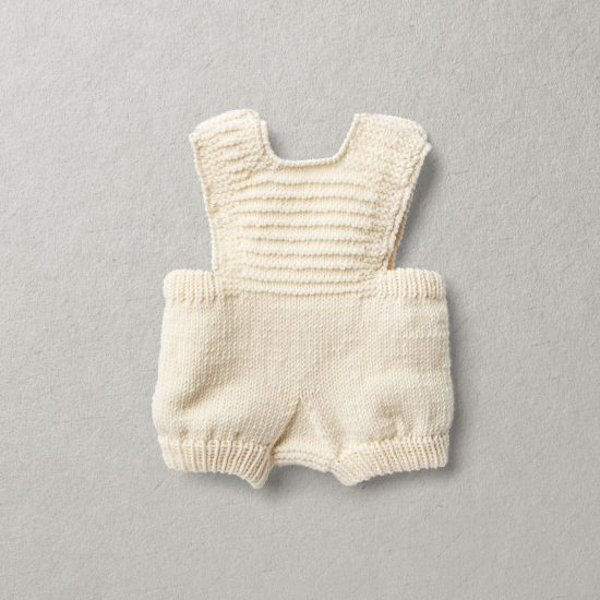 Merino wool Van Beren baby knit set DAVIE, off white