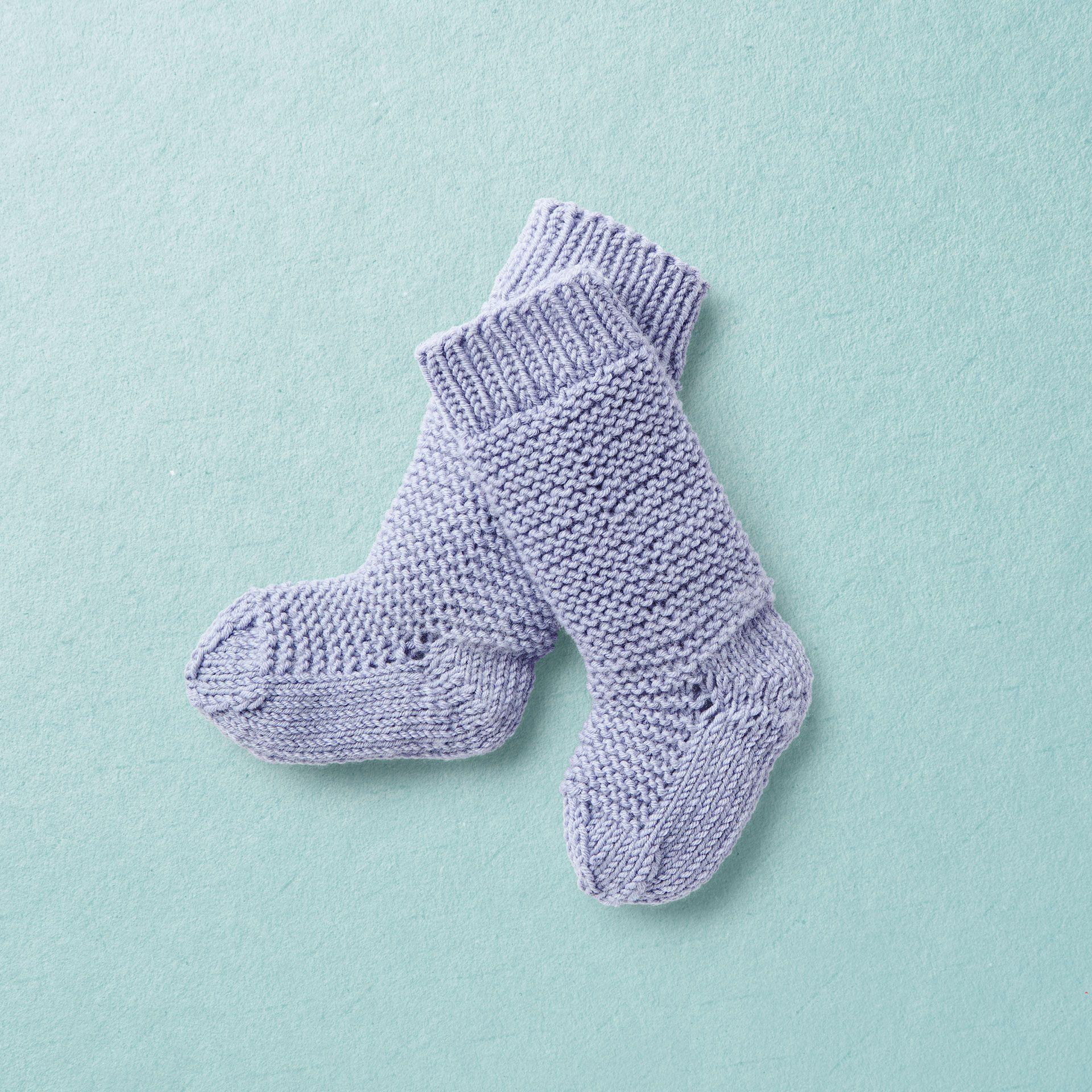 Van Beren baby knit knee socks TOM purple Van Beren