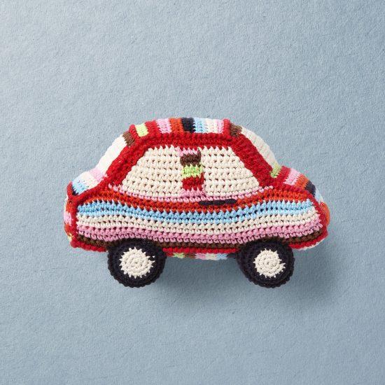 Anne-Claire Petit Car, crochet toys, handmade, organic cotton
