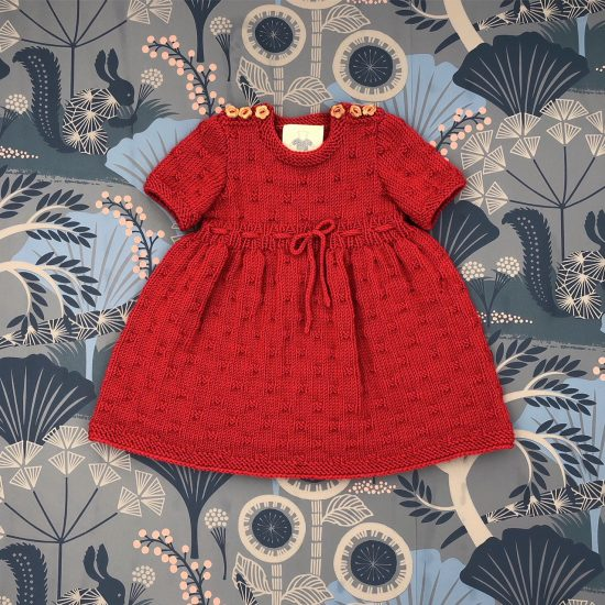 Vintage style inspired Van Beren baby knit dress LIV, handmade in Austria, merino wool, eco consciouis clothes, baby present, baby shower, baby belly party, hand knitted, fairfashion, heirloom, VAN BEREN