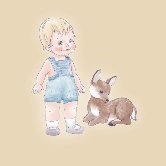 Van Beren Baby Strickstrampler GEORGIA