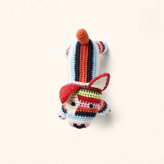 small terrier, Organic cotton hand crochet toys, ANNE-CLAIRE PETIT