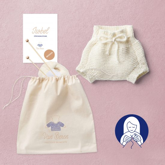 Van Beren Knit Kit baby bloomers Isobel