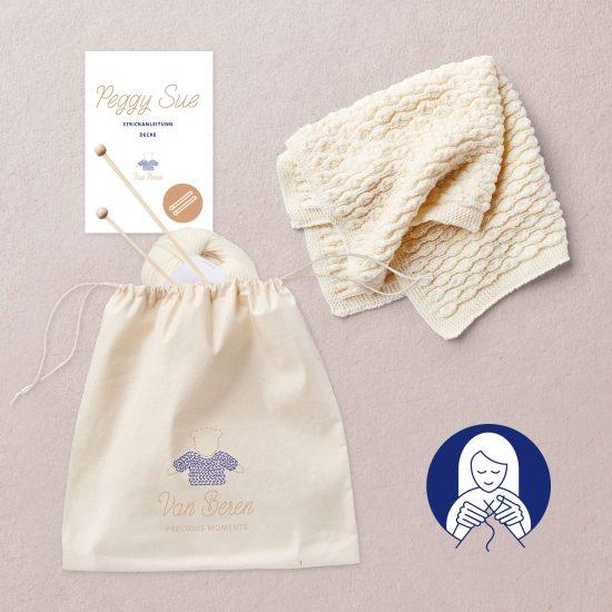 Van Beren Knit Kit Peggy Sue Decke