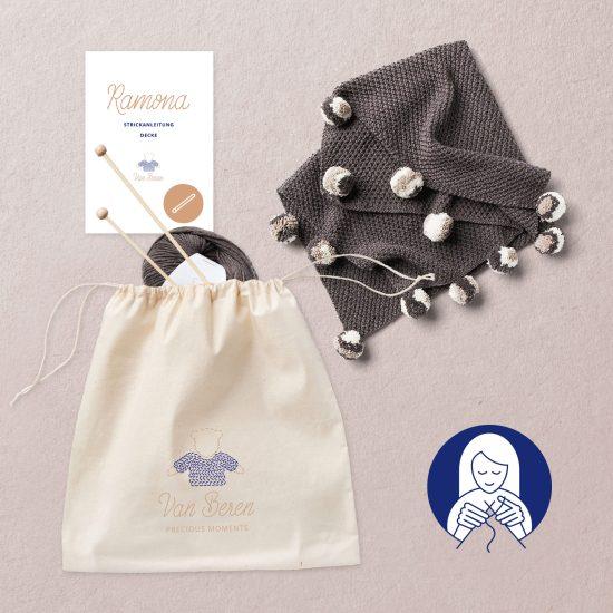 Van Beren Knit Kit Ramona Decke