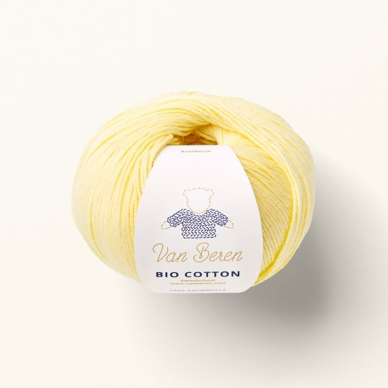 Van Beren Organic Cotton yarn