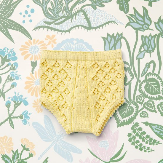 Vintage style inspired knit bloomers ELENA, organic cotton, hand made in Austria, VAN BEREN