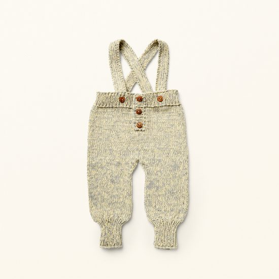 Baby Knit trousers CHARLY, VAN BEREN, handknitted, made in Austria