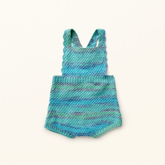 Vintage style inspired knit romper MARTHA, organic cotton, hand made in Austria, VAN BEREN