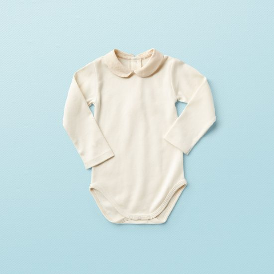 Vintage inspired Van Beren baby onesie JUDE, organic cotton, environmentally friendly, high quality, baby shower, baby belly party, hand knitted, fair fashion, baptism