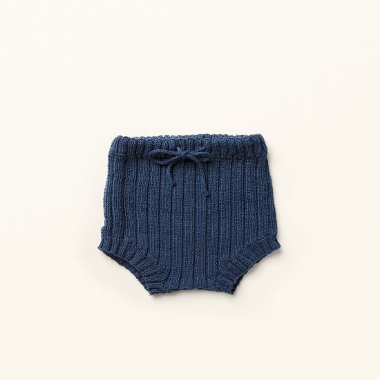 baby knit bloomers JACK, organic cotton, hand made in Austria, VAN BEREN