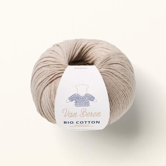 Organic cotton yarn VAN BEREN, Van Beren Wool School