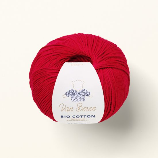 Organic cotton yarn VAN BEREN, Van Beren Wool School