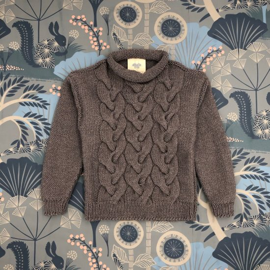 Vintage style inspired Van Beren knit sweater ANNI, handmade in Austria, merino wool, eco consciouis clothes, baby present, baby shower, baby belly party, hand knitted, fairfashion, heirloom, VAN BEREN