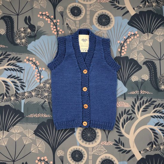 Vintage inspired Van Beren baby knit vest ZAK, handmade in Austria, high quality, environmentally friendly, baby shower, baby belly party, hand knitted, fair fashion, merino wool, VAN BEREN
