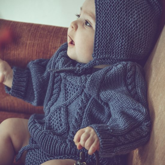 Vintage style inspired Van Beren baby knit sweater SEBASTIAN, handmade in Austria, eco consciouis clothes, baby present, baby shower, baby belly party, hand knitted, fairfashion, heirloom, VAN BEREN
