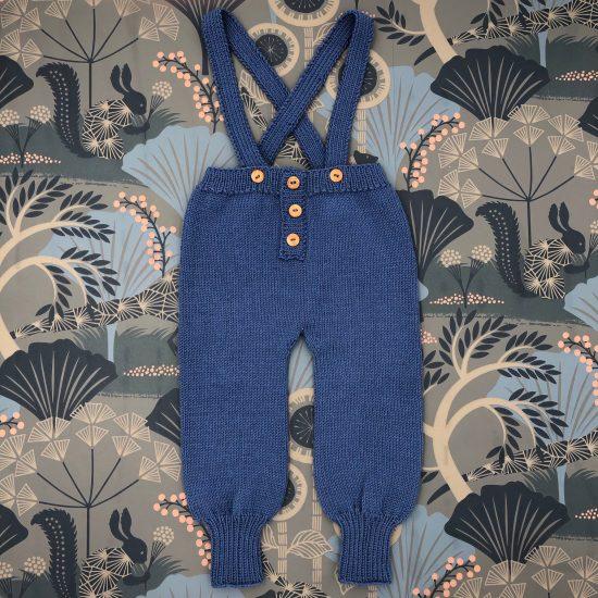 FLOYD baby knit trousers, merino wool, handmade in Austria Van Beren