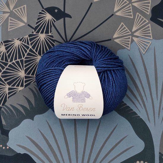 Van Beren Merino wool, EXP, blue