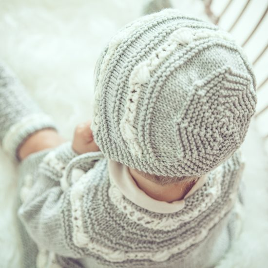 Vintage style inspired Van Beren knit, knit bonnetELLIE, handmade in Austria, merino wool, eco consciouis clothes, baby present, baby shower, baby belly party, hand knitted, fairfashion, heirloom, VAN BEREN