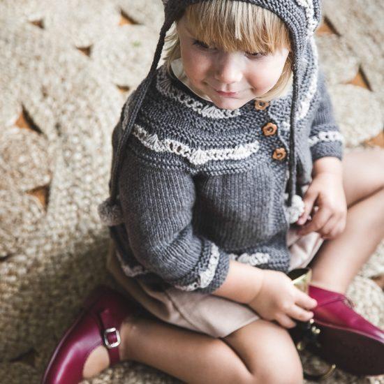 Vintage style inspired Van Beren knit, knit cardigan ELLIE, handmade in Austria, merino wool, eco consciouis clothes, baby present, baby shower, baby belly party, hand knitted, fairfashion, heirloom, VAN BEREN