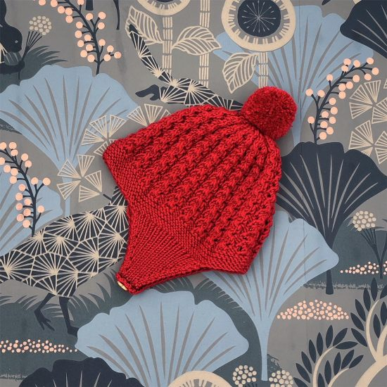 Vintage style inspired Van Beren baby knit bonnet VIVIEN, handmade in Austria, merino wool, eco consciouis clothes, baby present, baby shower, baby belly party, hand knitted, fairfashion, heirloom, VAN BEREN