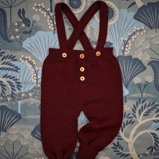 Knit leggings FLOYD handknitted of virgin merino wool VAN BEREN