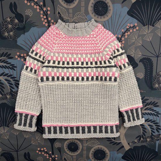Sweater APOLLO handknitted of virgin merino wool VAN BEREN