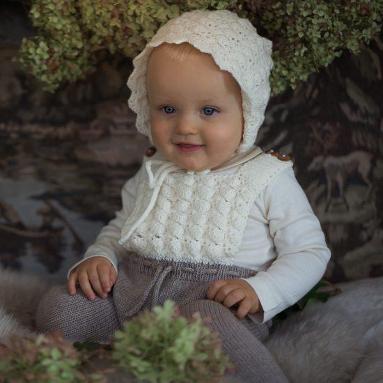 Knit romper CONNY handknitted of virgin merino wool VAN BEREN