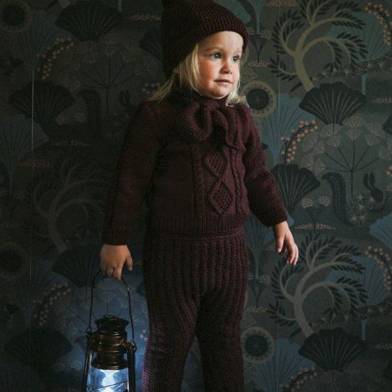 Knit jumper SEBASTIAN handknitted of virgin merino wool VAN BEREN