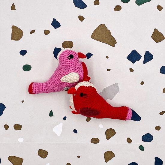 crochet toys, small bird, Häkelvogel, handmade, Häkelspielzeug, Anne-Claire petit, baby shower