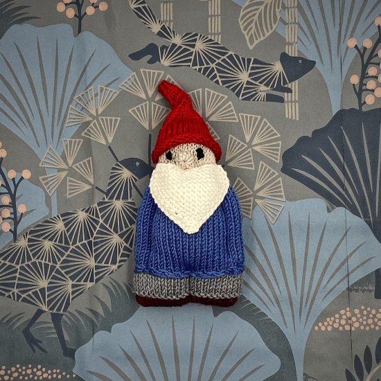 knit Gnome GNORBITT handmade in Austria of virgin merino wool VAN BEREN
