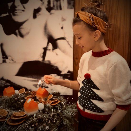 Christmas Sweater NOEL handmade in Austria VAN BEREN
