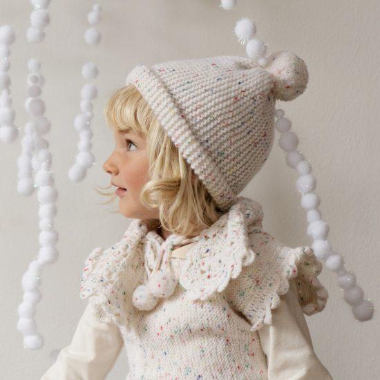Crochet scarf LILIAN handmade in Austria VAN BEREN