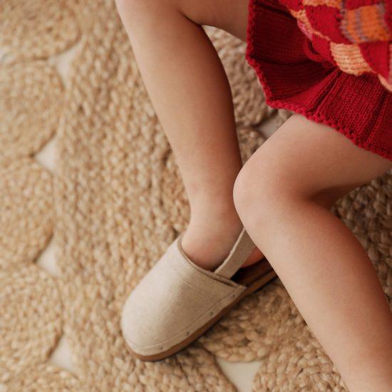 Knit skirt MAUDE handmade of organic cotton yarn