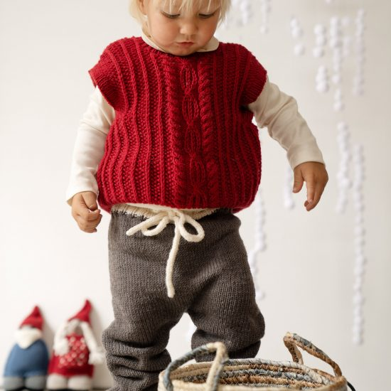 Knit sweater HUGH handmade of virgin merino wool in Austria VAN BEREN