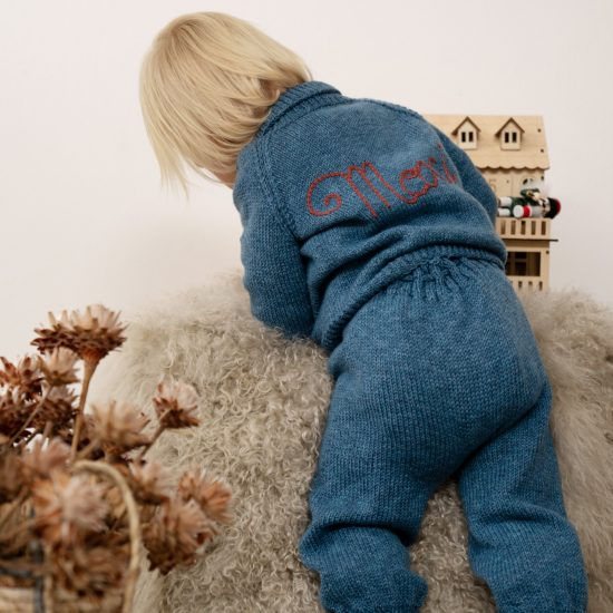 Knit cardigan RIDELY handmade in Austria of virgin merino wool VAN BEREN