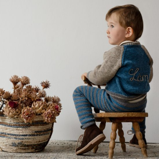 Knit cardigan LEON handmade in Austria VAN BEREN