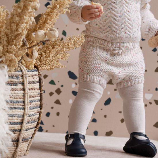 Knit bloomers ISOBEL handmade of virgin merino wool VAN BEREN